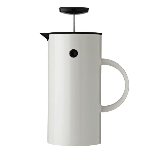 EM Press Kaffeezubereiter 1 L, weiß - Stelton Design