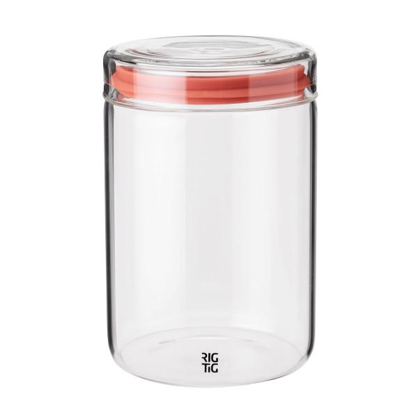 Vorratsglas mit Deckel 1 l von Rig-Tig by Selton. STORE-IT Vorratsdose aus Glas 1000 ml für Kaffee, Tee, uvm.