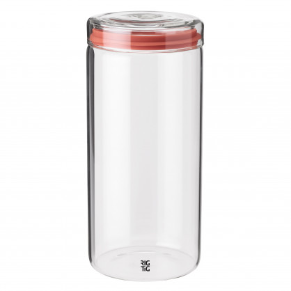 Vorratsglas mit Deckel 1,5 l von Rig-Tig by Selton. STORE-IT Vorratsdose aus Glas 1000 ml. Kaffeedose, Nudelglas, Müslidose, Teedose ...