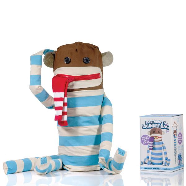 Dirty Sock Monkey - Wäschesammler