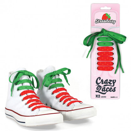 Schnürsenkel Crazy Laces - Strawberry