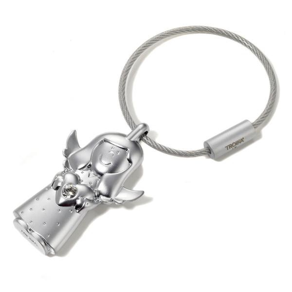 TROIKA Schlüsselanhänger Schutzengel VALERIE, silber