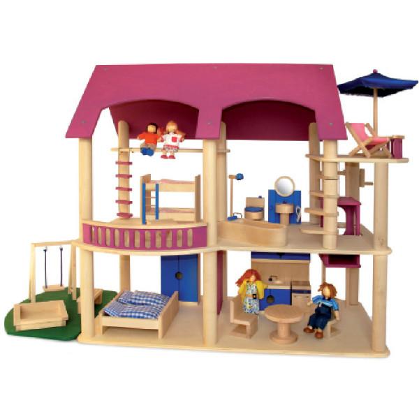 Puppenhaus Villa Lilly - pink