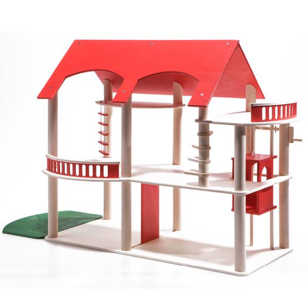 Puppenhaus Villa Rossa - rot
