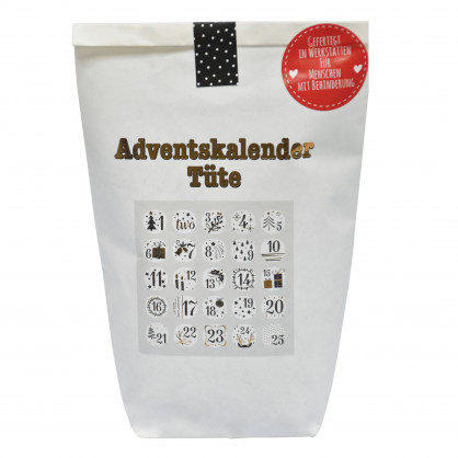 Adventskalender Tüte - Wundertüte Advent - wunderle - Rubbelkarten Adventskalender