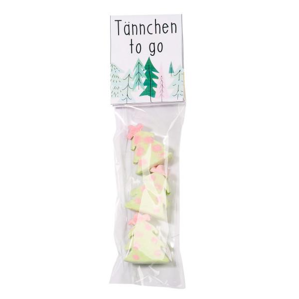 Überraschungtüte - Tannen Marshmallows - Süßigkeitentüte Tännchen to go von Wunderle - Weihnachten Geschenk - Mitbringsel - XMAS - Christbaum