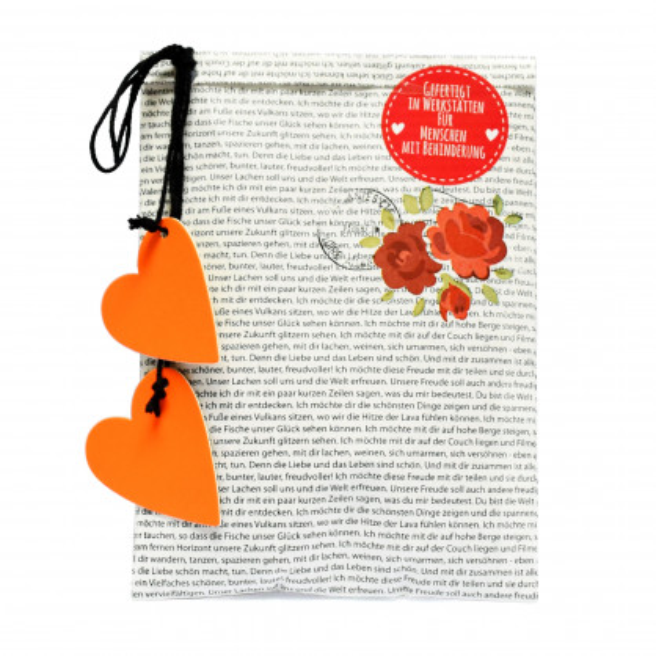 Wundertüte Kleine Liebe von Wunderle. Kleine Geschenktüte für Verliebte, für Valentin, ... . Liebesgeschenk.