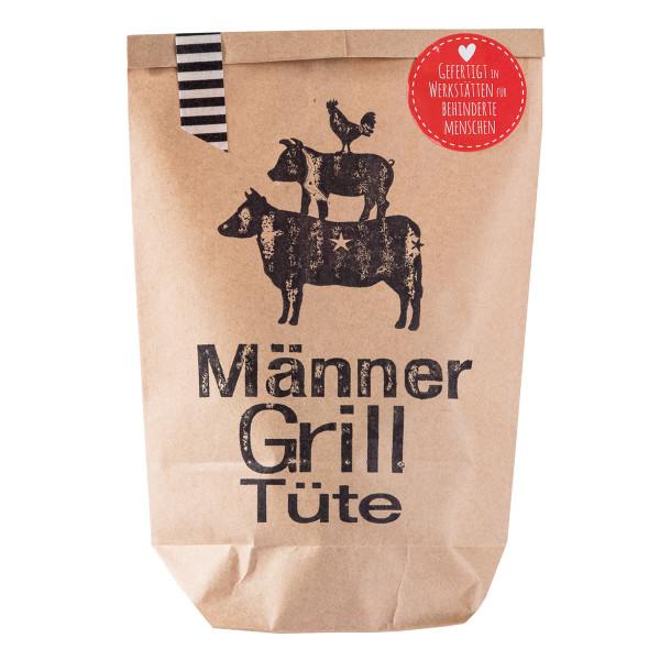 Braune Grilltüte für Männer: Wundertüte fürs Grillen von wunderle.