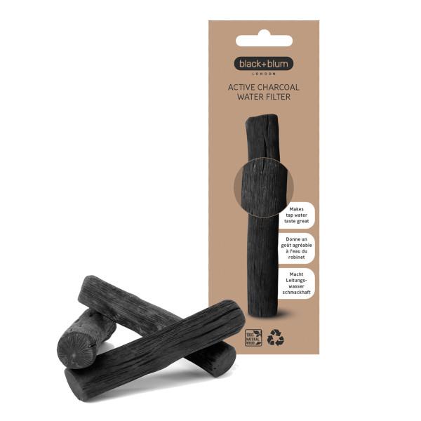 Binchotan Aktivkohle - Wasserfilter - black+blum