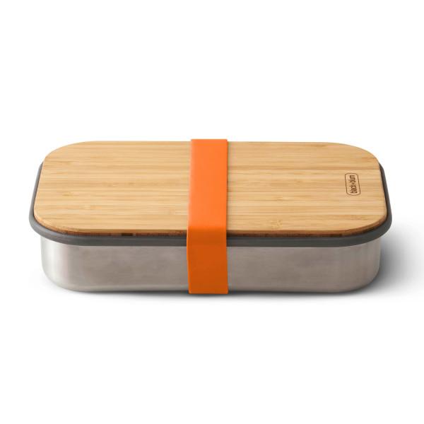 Sandwich Box Edelstahl, orange