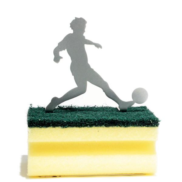 Schwammhalter Clean Green - Fußballer