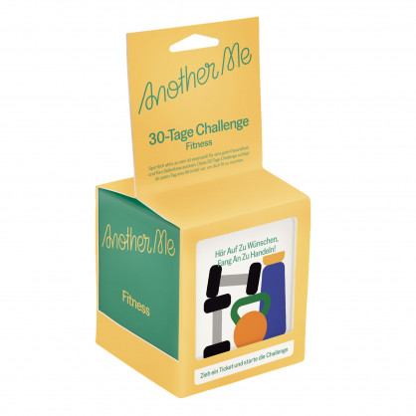 30 Tickets in der Box für eine bessere Fitness: die 30-Tage Challenge Fitnessbox von doiy design.