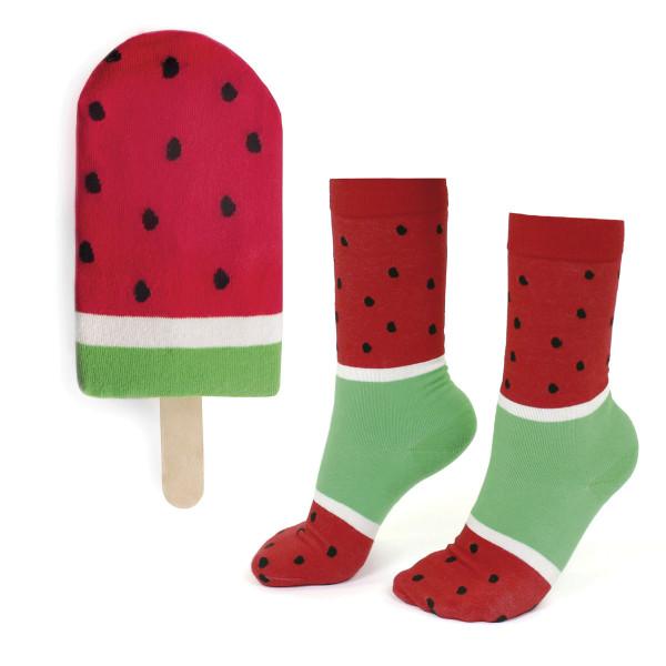 Socken ICEPOP, watermelon