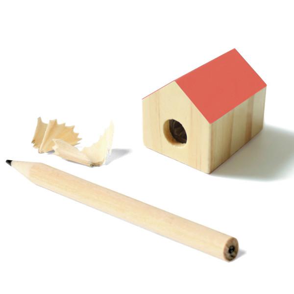 Spitzer House Sharpener, rot