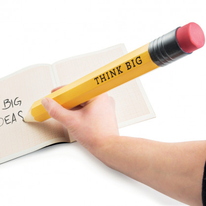 XXXL Bleistift Think Big