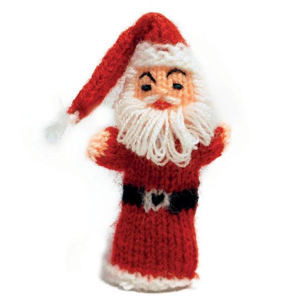 Fingerpüppchen Weihnachtsmann Nikolaus
