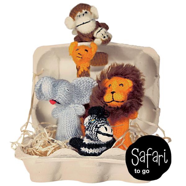 Safari to go, Fingerpüppchen