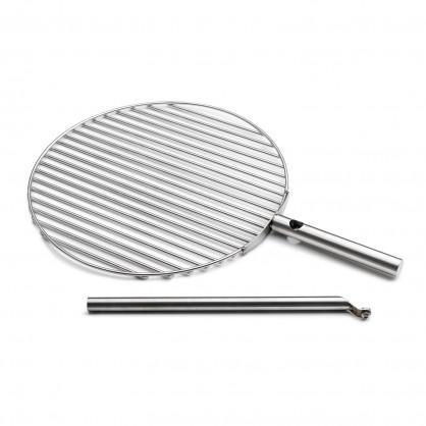 Grillrost mit Stange TRIPLE 45 cm