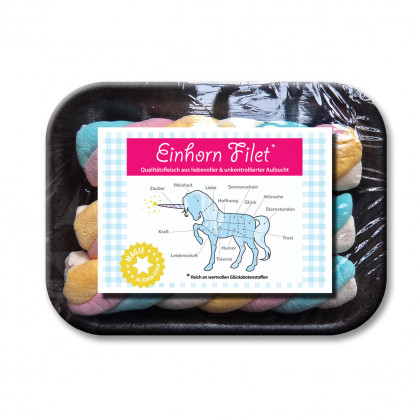 Einhorn Filet - Regenbogen Marshmallows - liebeskummerpillen