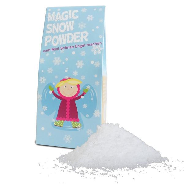 Magisches Schneepulver Magic Snow Powder zum Mini-Schnee-Engel bauen von liebeskummerpillen.