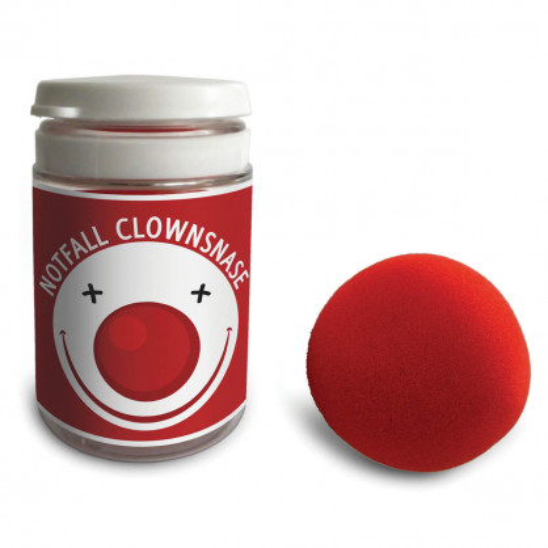 Notfall Clownsnase von liebeskummerpillen: rote Schaumstoffnase für schnelle Freude zwischendurch.