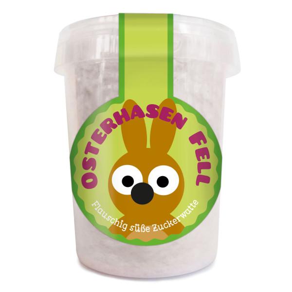 Osterhasen Fell - Flauschig süße Zuckerwatte