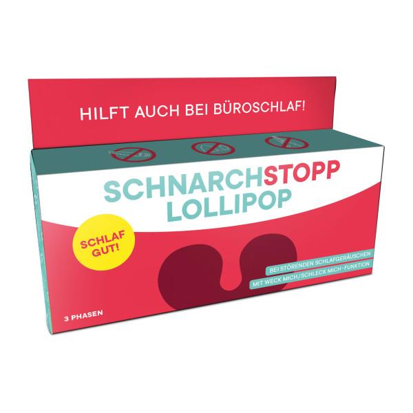Leckere Lutscher in der Geschenkschachtel - Schnarchstopp Lollipops von liebeskummerpillen