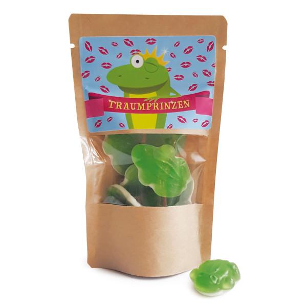 Traumprinzen im Glas - Frosch Fruchtgummis - von liebeskummerpillen.