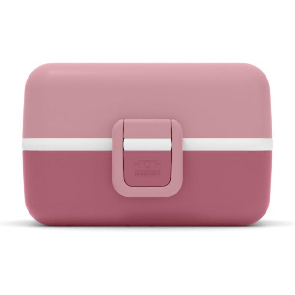 Rosarote Kinderlunchbox blush MB TRESOR von monbento. Lunchbox pastell rosé - mit Fächern, Auslaufsicher, Unterteilungen, BPA-frei ... Lunchbox für Kinder