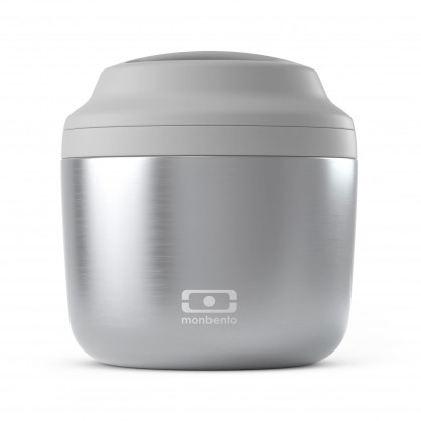 Doppelwandiger Lunchpot MB ELEMENT aus Edelstahl von monbento. Auslaufsicher, doppelwandig, BPA-frei ... . Isolierbehälter für unterwegs.
