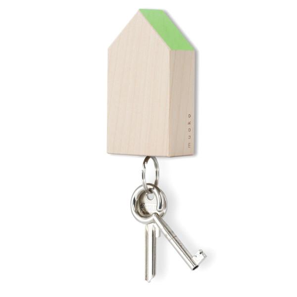 Schlüsselhaus magnetic, Ahorn - hellgrün