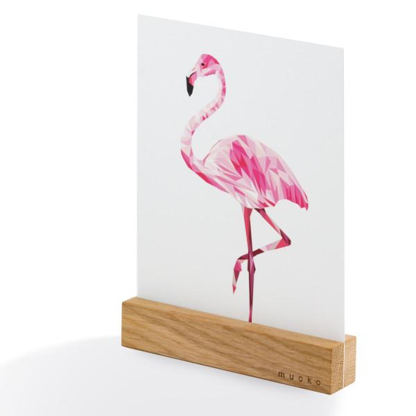 Kartenleiste Simple Change aus Eichenholz von muoko design.