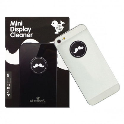 Reinigungspad - Mini Display Cleaner - Moustache