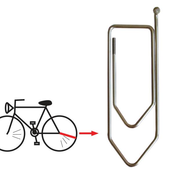 XXL Büroklammer Speicher (aus echter Fahrradspeiche)