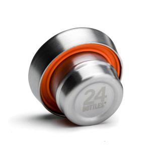 Deckel CLIMA Flaschenverschluss steel