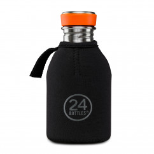Thermal Cover Sleeve für Trinkflasche URBAN 0,25 l. Neoprenüberzug Flasche - Hält Getränke länger warm oder kalt