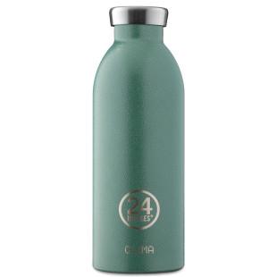 24Bottles Thermosflasche / Isolierflasche 0,5 L CLIMA aus Edelstahl, moosgrün - Moss Green