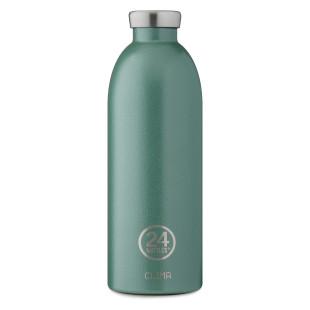 24 Bottles Thermosflasche CLIMA Edelstahl 850 ml, moosgrün - Doppelwandige Trinkflasche moss green - Design Isolierflasche 24Bottles.