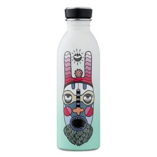 24Bottles Trinkflasche by Elena Salmistraro. Edelstahl Trinkflasche bunt - Sakra. Auslaufsichere Metallflasche.