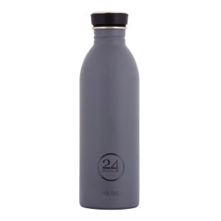 Trinkflasche 0,5 Liter formal grey (grau) aus Edelstahl von 24Bottles.