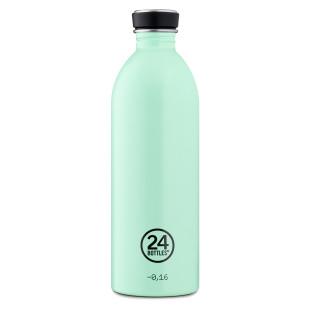 24Bottles URBAN Trinkflasche 1,0 l aqua mintgrün. BPA-freie Trinkflasche aus Edelstahl mit auslaufsicheren Schraubdeckel.