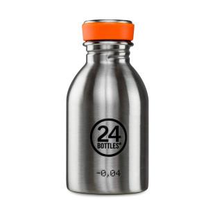 24bottles Trinkflasche 0,25 L URBAN aus Edelstahl - Mini Trinkflasche 250 ml - Design Trinkflasche steel