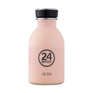 Edelstahl Trinkflasche 0,25 l dusty pink mit Schraubdeckel. BPA-frei,  robust, leicht ... 24Bottles URBAN Trinkflaschen. Kindertrinkflasche rosa.