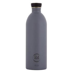 24Bottles Edelstahl Trinkflasche 1,0 l URBAN stone grey. Designflasche grau. Auslaufsicherer Schraubdeckel, BPA-frei ...