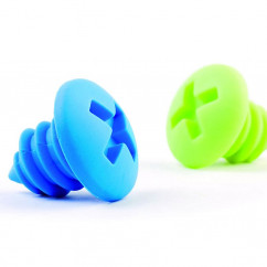 Flaschenverschl�sse Bottle Screws gr�n/blau
