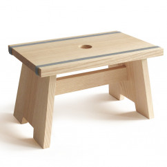 Fu�schemel Little Stool blaugrau