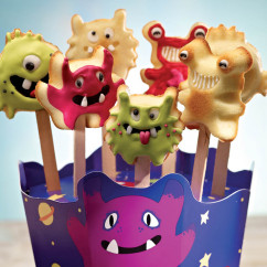 Silikonform MonsterPops f�r Kuchen am Stil