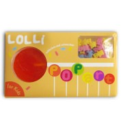 Lolli Popart, for Kids (mit Zucker-Tierchen)