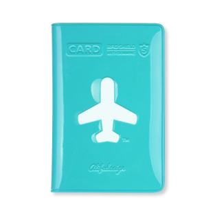 Kartenetui in blau für Kreditkarten, Visitenkarten ... mit Anti-Skimming-Folie von ALIFE Design.