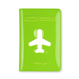 Kartenetui in grün für Kreditkarten, Visitenkarten ... mit Anti-Skimming-Folie von ALIFE Design.